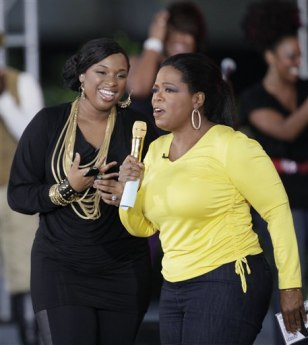Image: Jennifer Hudson and Oprah Winfrey