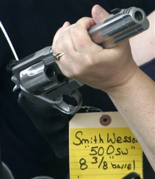 IMAGE: Smith and Wesson handgun