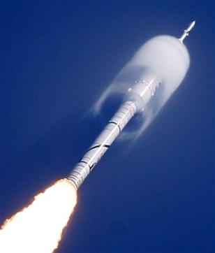 Image: Ares I-X rocket