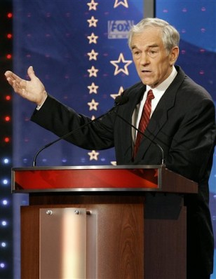 Rep. Ron Paul, R-Texas