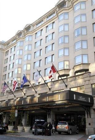 Image: Fairmont Inauguration lodging