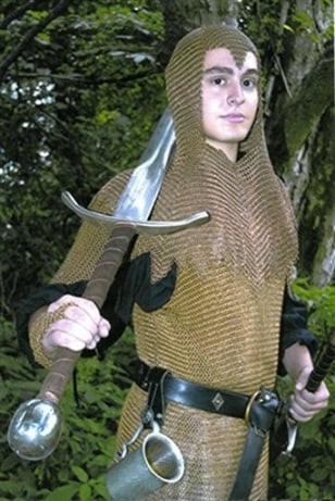 IMAGE: TEEN IN SWORD COSTUME