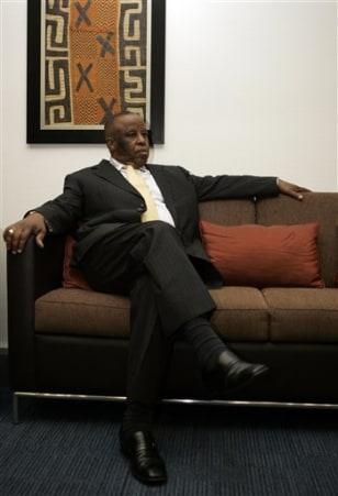 Image: President Festus Mogae
