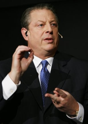 Former U.S. Vice President Al Gore