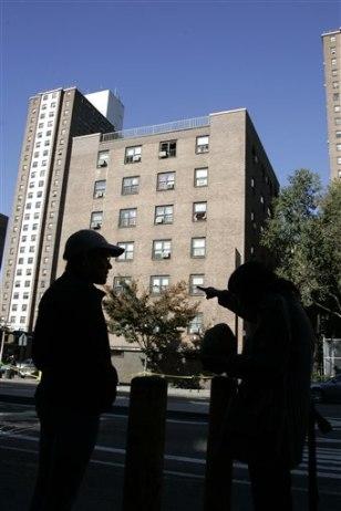 Image: Manhattan blaze