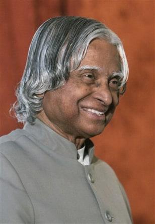 India Ex President Frisked