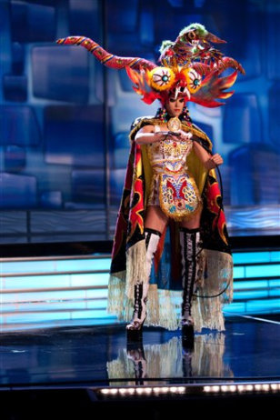 "Image: Miss Peru's ""Devil's Dance"""