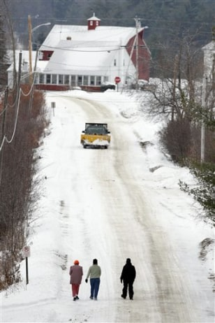 Images: Road in Vienna, Maine