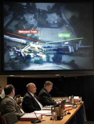 Image: NTSB hearing on Calif. train crash