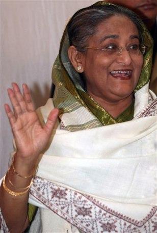Image: Sheikh Hasina in Bangladesh