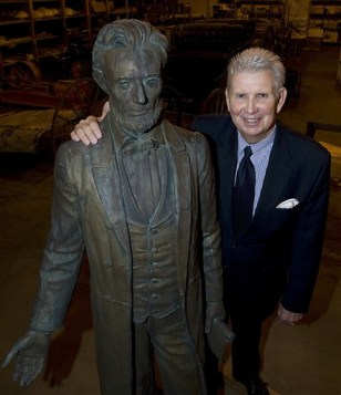 Image: Idaho's Lincoln statue