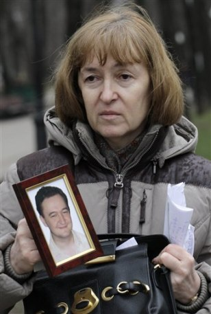Image: Nataliya Magnitskaya, mother of lawyer Sergei Magnitsky