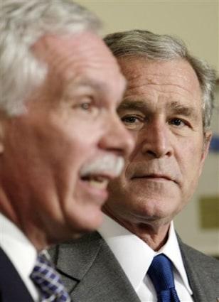IMAGE: Edward Schafer, George W. Bush