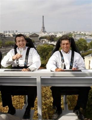 France dinner in the sky