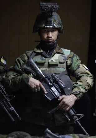 Image: Afghan Army commando