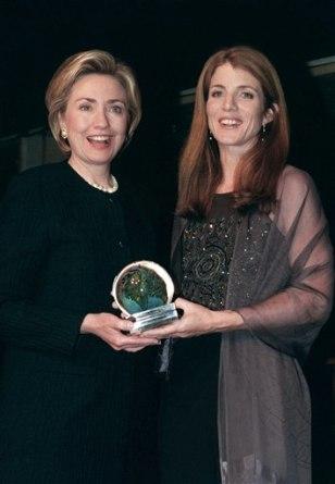 Image: Hillary Rodham Clinton, Caroline Kennedy