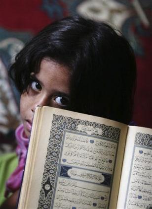 Image: An Iraqi girl
