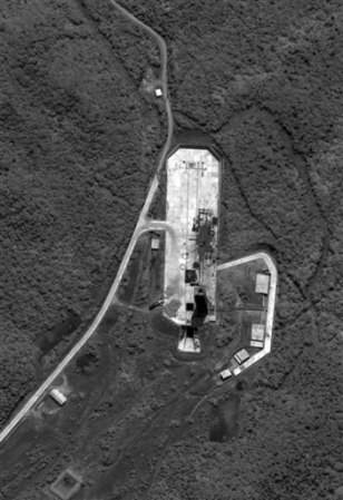 Image: Satellite view of base