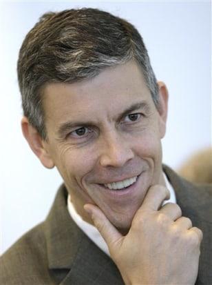Image: Chicago Public Schools chief Arne Duncan