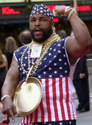 HE PITIES THE FOOL