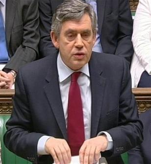 Image: Prime Minister Gordon Brown