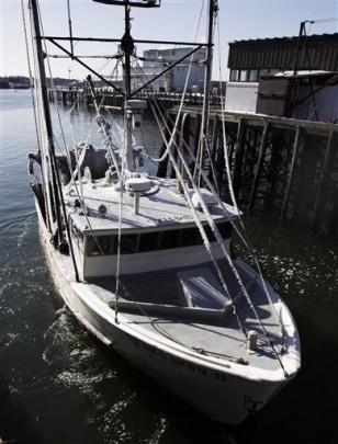 Image: Fishing trawler