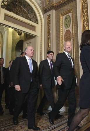 Joe Biden, Jack Lew, Bill Daley