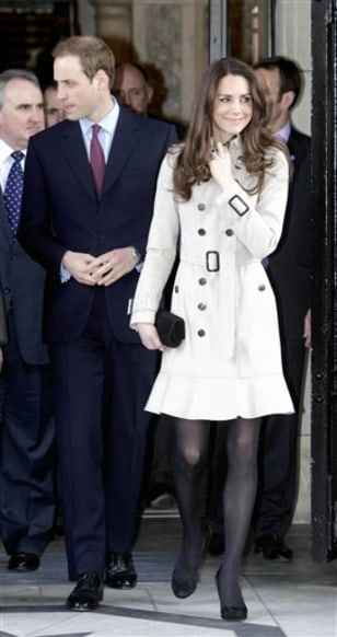 Image: Prince William and Kate Middleton