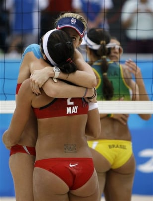 Beijing Olympics Beach Volleyball Women