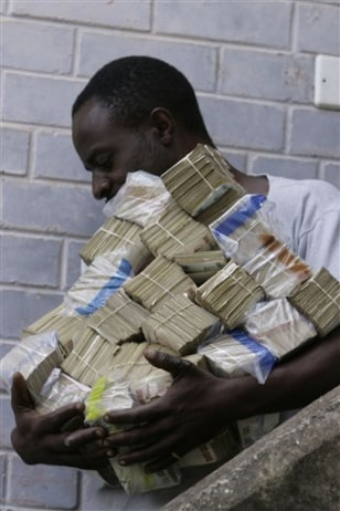 Image: Zimbabwe money