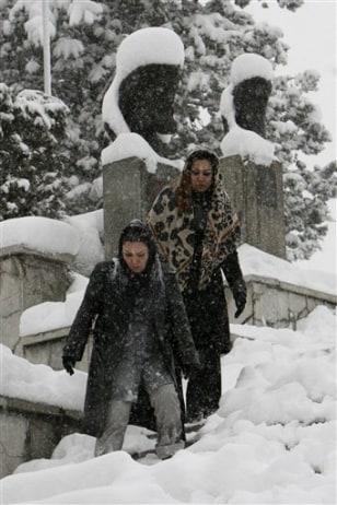IMAGE: Iran Snow