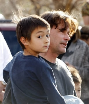 Image: Richard Heene and his son, Falcon, 6.
