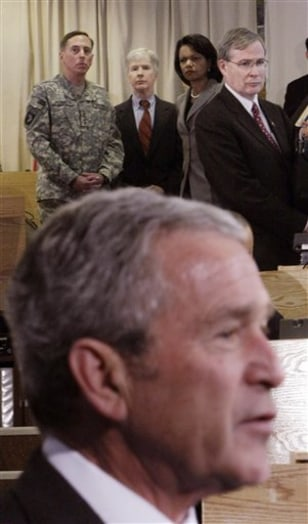 Image: Bush in Kuwait