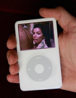 Eva Longoria on iPod