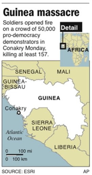 Image: Map of Guinea