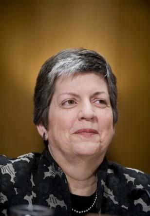 Image: Homeland Security Secretary-designate Janet Napolitano