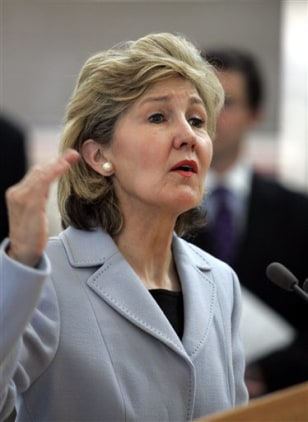 IMAGE: Sen. Kay Bailey Hutchison, R-Texas