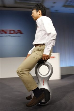 "Image: Honda's ""personal mobility device"