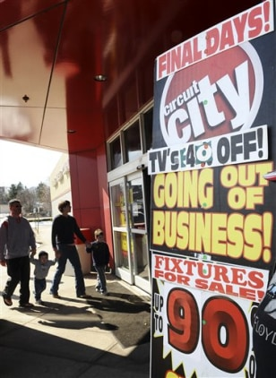 Image: Circuit City sign