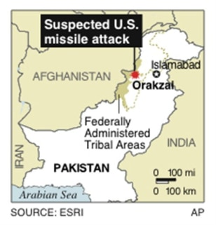 PAKISTAN US STRIKE