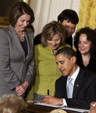 Image: Obama, Council on Women