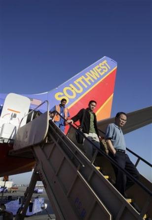 Image: Southwest passengers