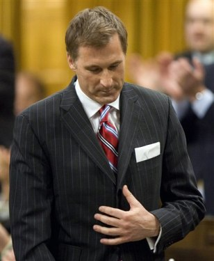 Image: Canadian Foreign Affairs Minister Maxime Bernier