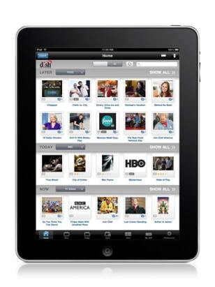 Image: Dish Network app on iPad