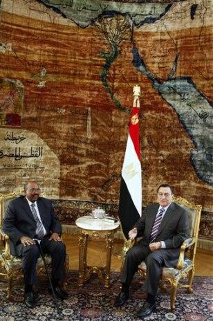 Image: Omar Al-Bashir, Hosni Mubarak
