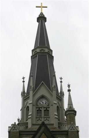 IMAGE: UNIVERSITY BASILICA WITH SPIRE MISSING