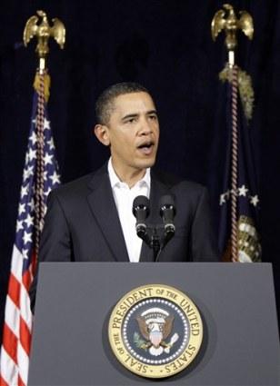 Image: Obama speaks