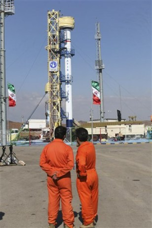 Image: Iran rocket