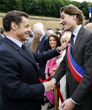 FRANCE SARKOZY S SON