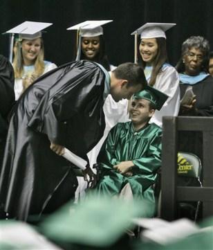 Affleck Graduation